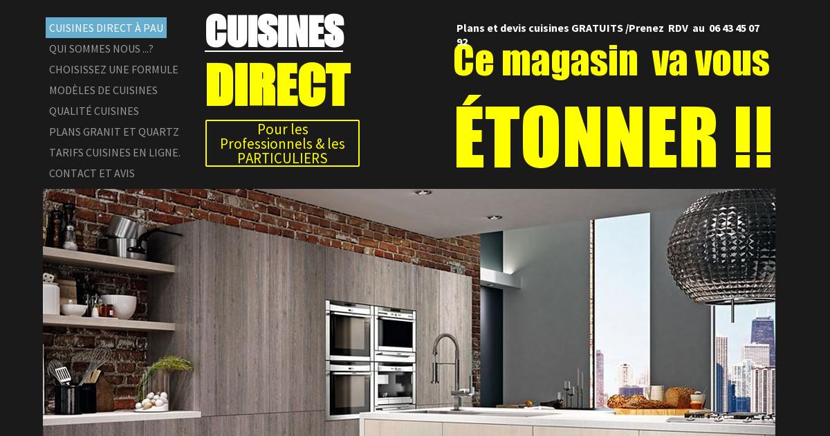 Cuisines Direct A Pau Lons Ce Magasin Va Vous Etonner Cuisine